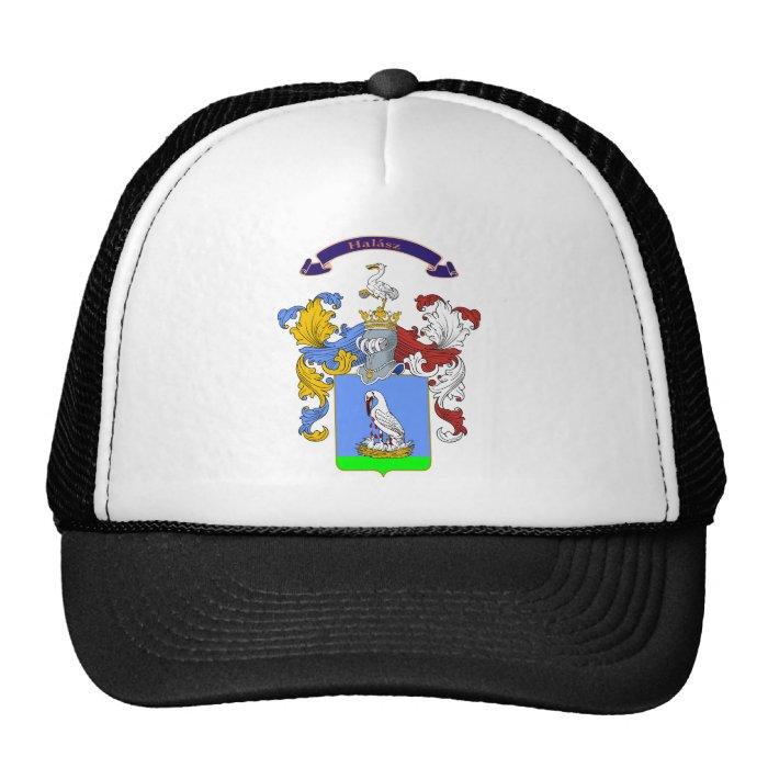 Halasz Family Hungarian Crest T shirt Hats on PopScreen