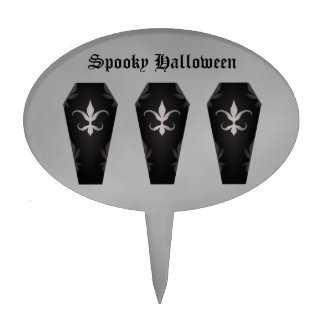 coffin cake template - cute halloween cake toppers zazzle