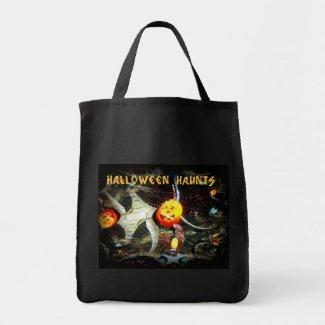 Halloween Haunts Customize Tote Bag bag