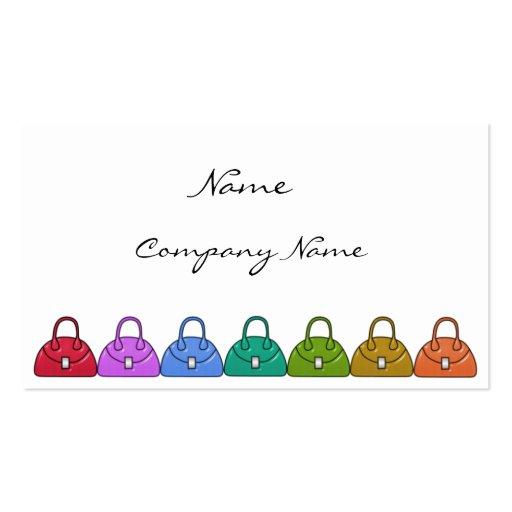 Handbags Business Card