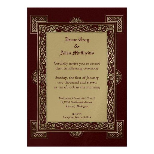 Handfasting Invitation: Handfasting Invite