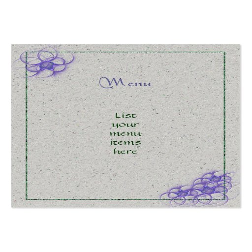 Handfasting Invitation: Happy Handfasting Large Business Cards (Pack Of 100)