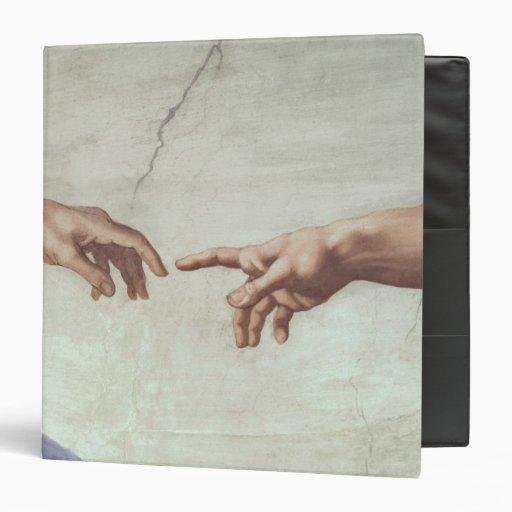 Hands Of God And Adam Binder