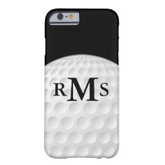 Handsome Monogram Initials Golf iPhone 6 Case