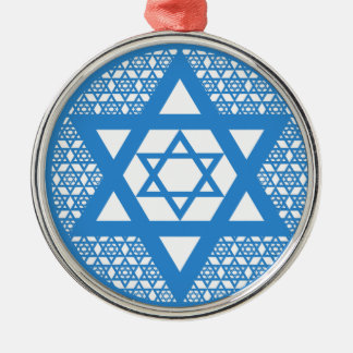 Hanukkah - Star of David Christmas Tree Ornament