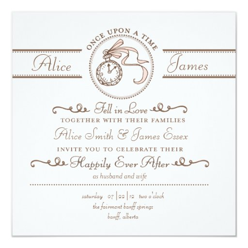 Happily Ever After Wedding Invitation | Zazzle  Happily Ever Af...