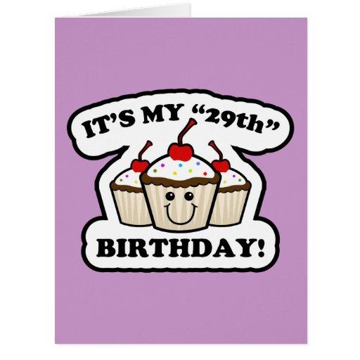 Happy 29th Birthday Cards, Happy 29th Birthday Card