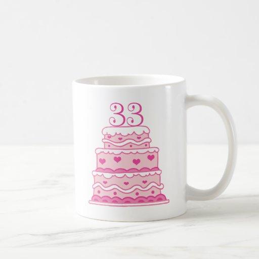 33rd Wedding Anniversary Gift: Happy 33rd Anniversary Gift Mug