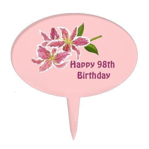 Happy 88th Birthday Cake Pick