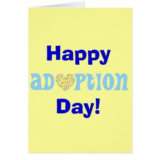 Happy Adoption Day! Greeting Card