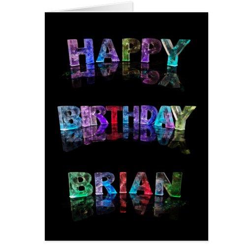 Happy Birthday Brian Card