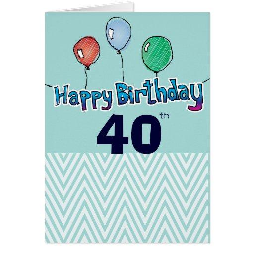 Happy Birthday Blank Card