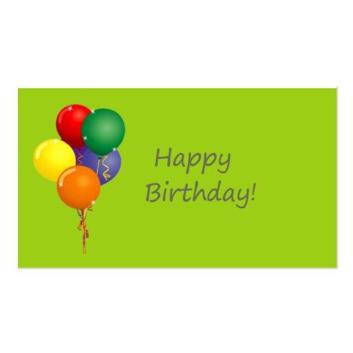 happy birthday gift card template traffic club