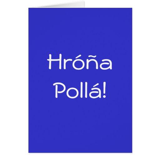 HAPPY BIRTHDAY IN GREEK! CARD