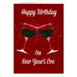New Years Eve Greeting Cards | Zazzle