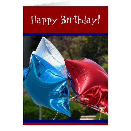 Red White And Blue Balloons Happy Birthday | www.imgkid ...