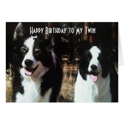 Happy Birthday Twins Cards, Happy Birthday Twins Card