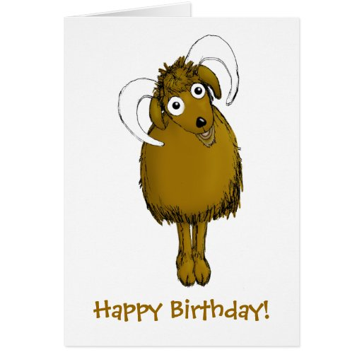 Happy birthday goat - photo#55