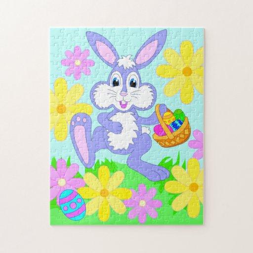 happy easter bunnies flowers - photo #24