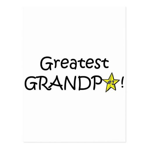 Happy Father's Day, Grandpa! Postcard | Zazzle