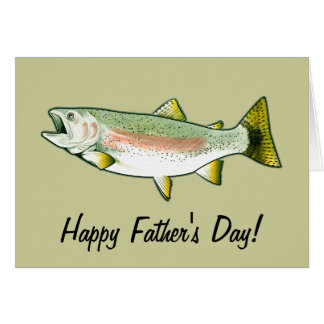 Fathers Day Fishing Cards | Zazzle
