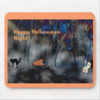 Happy Halloween-Halloween Haunting mousepad