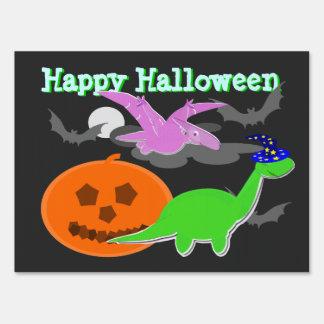 Happy Halloween Yard & Lawn Signs | Zazzle