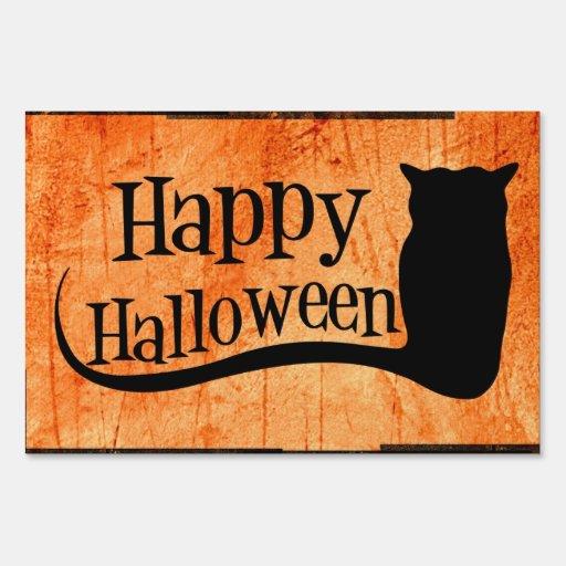 Happy Halloween Yard Sign | Zazzle