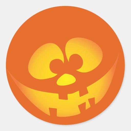 Aninimal Book: Happy Jack-o'-lantern faces - Happy Halloween! Sticker ...
