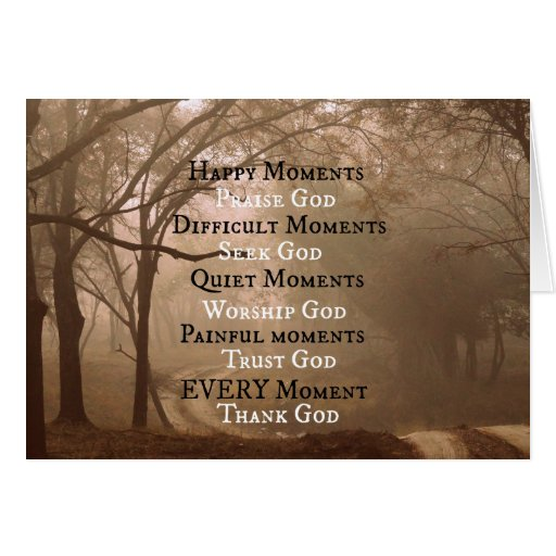 Quotes Reminiscing Happy Moments: Happy Moments Praise God Quote Card