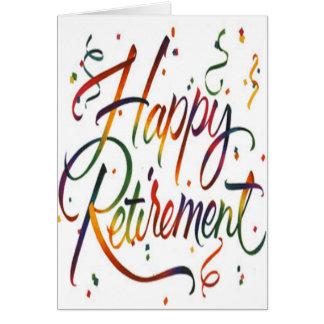 happy retirement cards happy retirement card templates. Black Bedroom Furniture Sets. Home Design Ideas