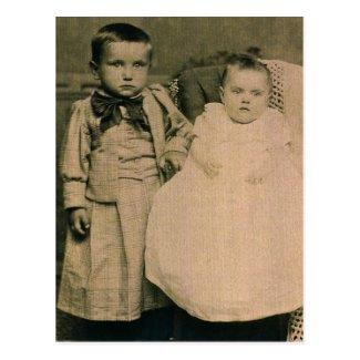 Harry & Rosie, children of Hal & Lottie ZARFOS
