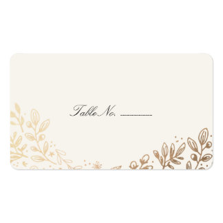 Table business cards and business card templates zazzle for Double sided place card template