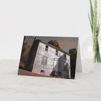 Haunted House Items card