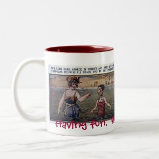 Having fun… mugs