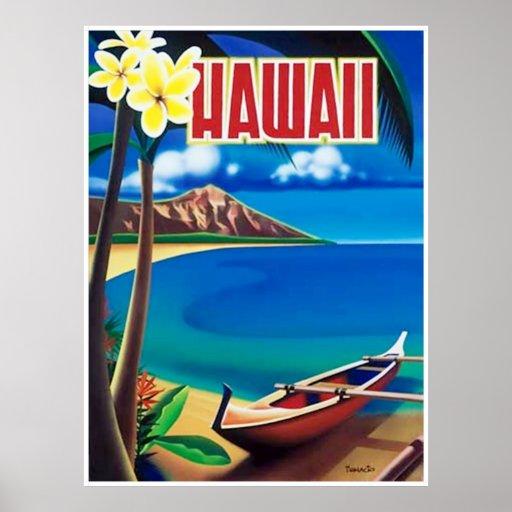 Vintage Hawaii Travel Poster 61