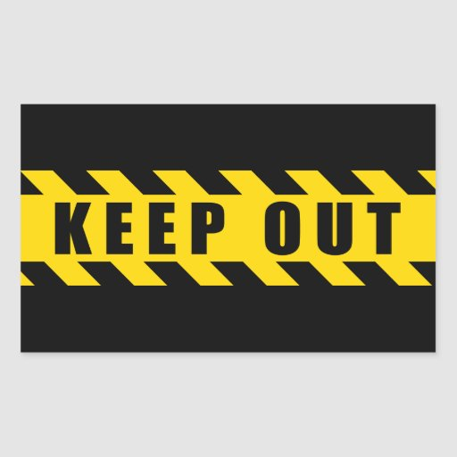 Keep Out Police Hazard Tape Black Yellow Stripes ...