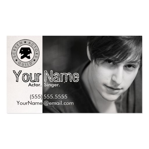 Headshot Business Card For The Working Actor III