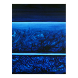 Color therapy postcards zazzle - Is blue a calming color ...