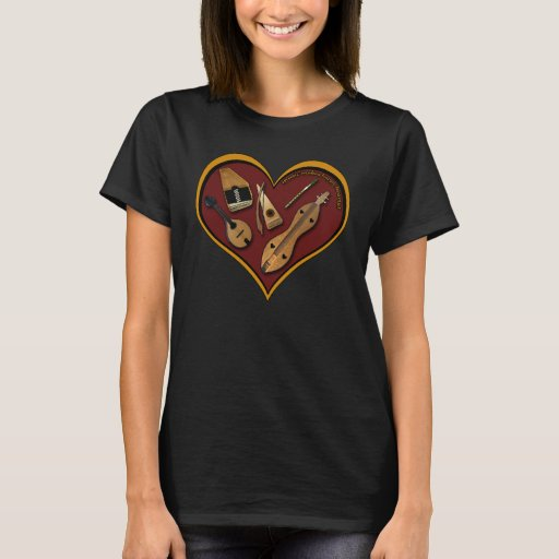 Heart of Music with Autoharp T-Shirt
