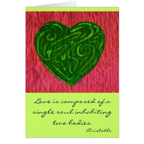 Heart & Soul card