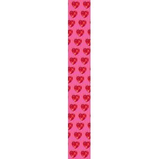 Hearts joined in Love tie
