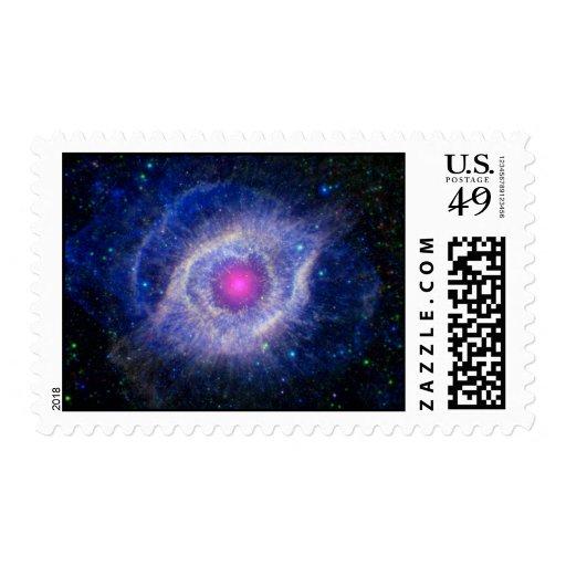 Helix Nebula NASA Purple Postage | Zazzle