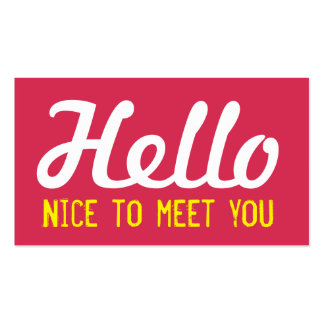 hello nice to meet you in romanian