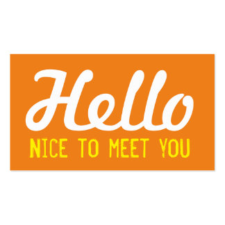 i was nice to meet you