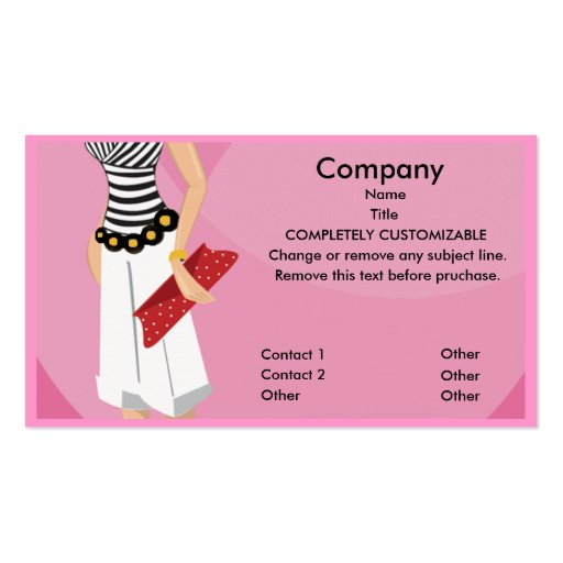 Customize 250+ fashion business card templates online canva.