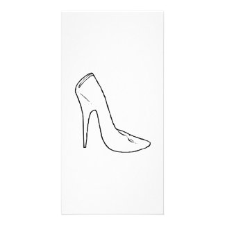 High heel photo cards high heel photo card templates for High heel template for cards