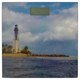 Lighthouse Nautical Bath Decor