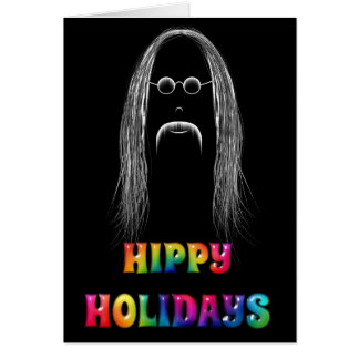 Hippy Holidays Card