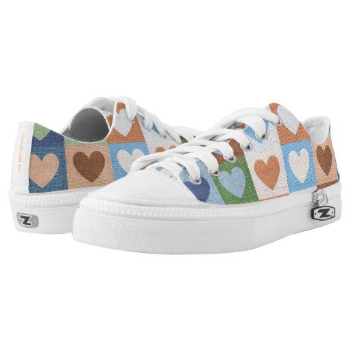 Single Heart Bride Custom Shoes 2
